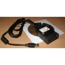 USB KKL line адаптер в корпусе GM-12, Не Китай